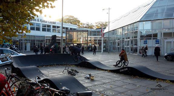 Pumptrack composite PC1 à Aalborg, Danemark.
