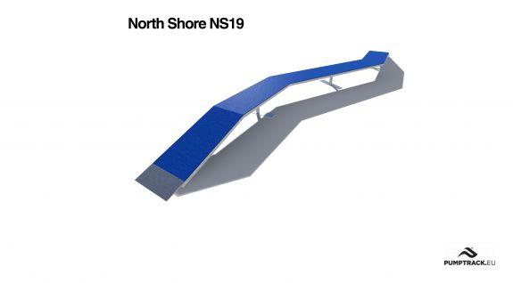 Render kładki North Shore NS19