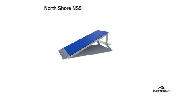 Render elementu toru rowerowego North Shore NS5