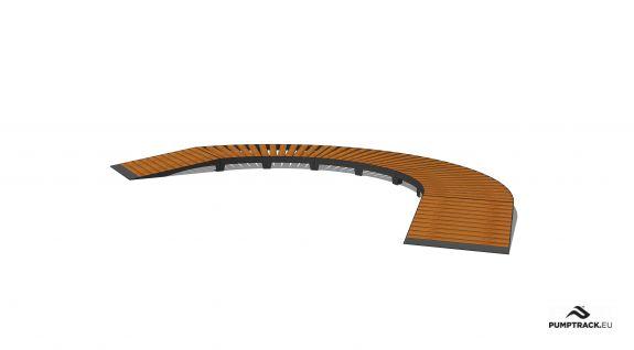 Piste cyclable - Larix W15