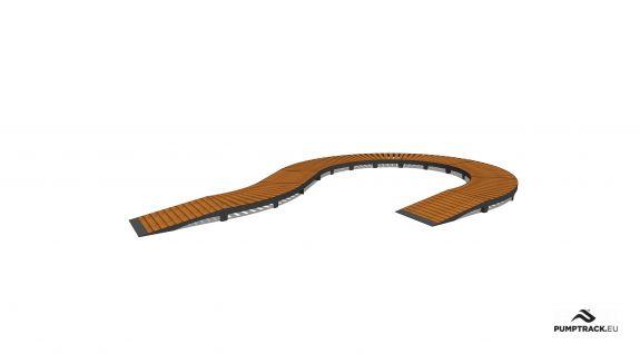 Piste cyclable - Larix W20