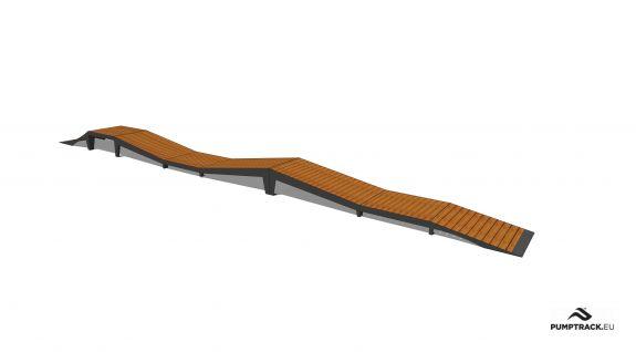 Piste cyclable - Larix W24