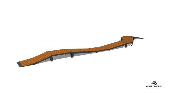 Piste cyclable - Larix W25