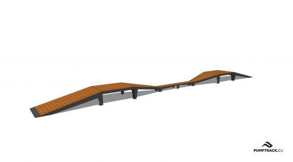 Piste cyclable - Larix W26