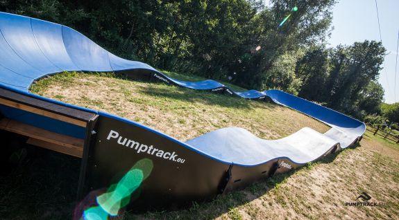 Pumptrack composite adapté pour chaque utilisateur