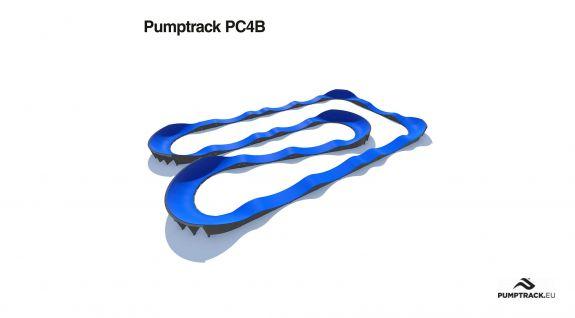 Piste cyclable Pumptrack en modules
